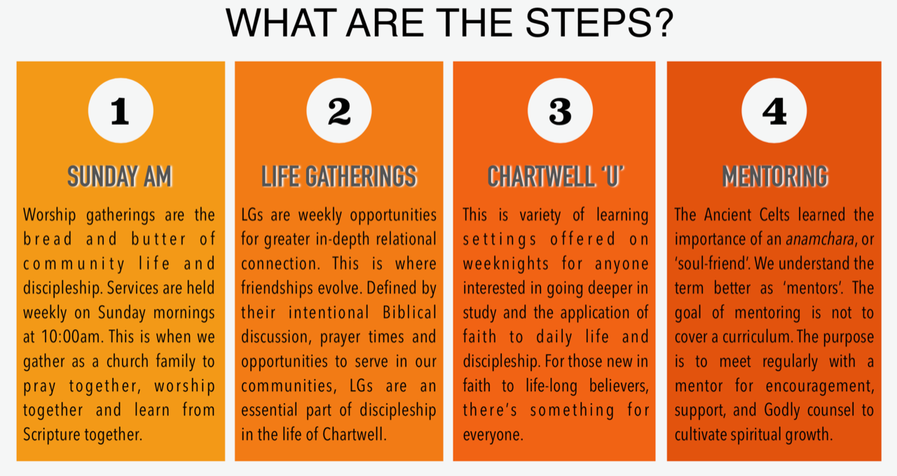 The-Walk-Steps Discipleship