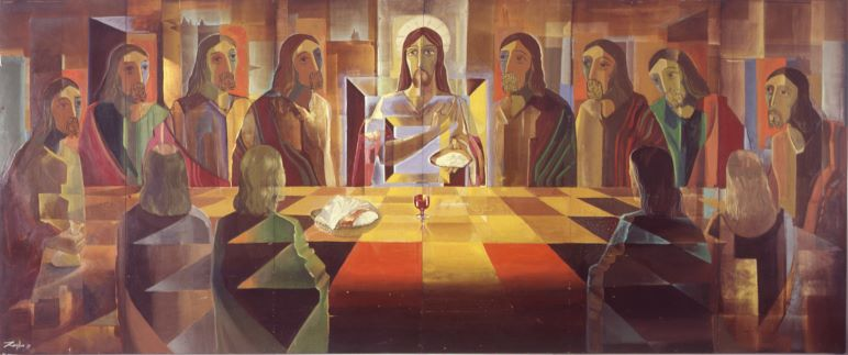Geometric-last-supper-1 Sermons